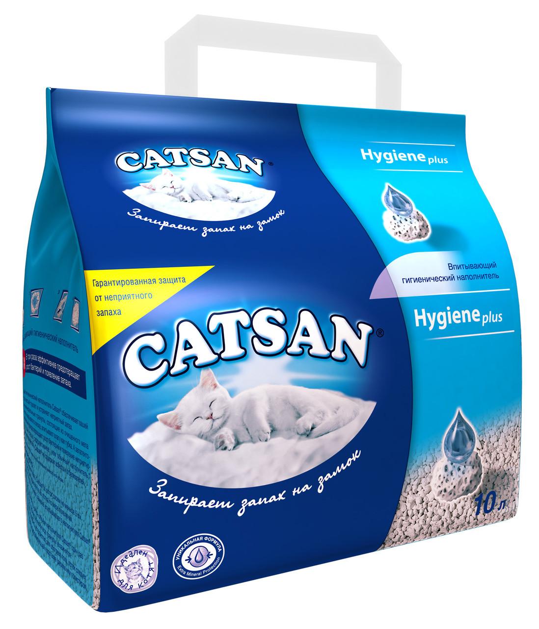 Catsan Впитывающий наполнитель, 10 л