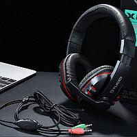 Гарнитура для ПК Tucci X6 Super Bass Black/Red