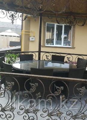 Комплект мебели  большой  круглый стол , 8 солидных стульев, фото 2