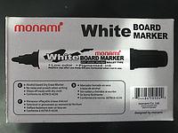 Маркер MONAMI черный для доски,1 штука