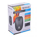 Компьютерная мышь Defender Datum MM-010 черный, фото 2
