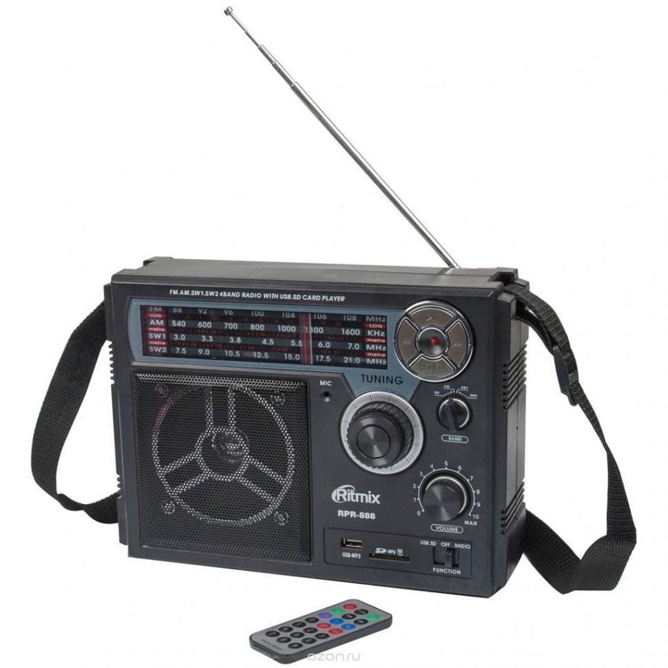 Радиоприемник портативный Ritmix RPR-888