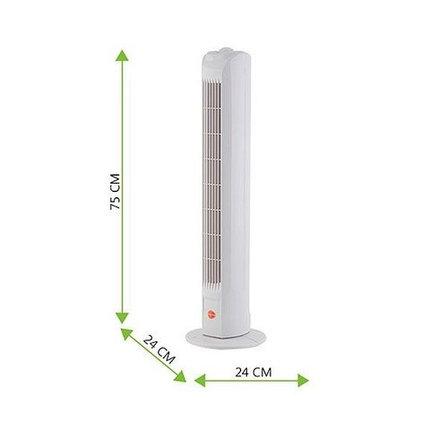Вентилятор-колонна напольный Equation Tower Fan 45W, фото 2