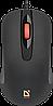 Мышь проводная Defender Ultra Classic MB-280 черный