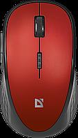 Мышь беспроводная Defender Hit MM-415 красный