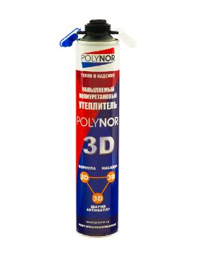 Утеплитель Напыляемый POLYNOR 3D