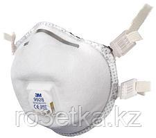 3M™ 9928 Специализированная Противоаэрозольная Фильтрующая Полумаска для защиты сварщика класс защиты FFP2 R D