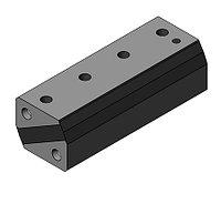 Амортизаторы резинометаллические двухпластинчатые АДП, АДПУ, АДПН, фото 1