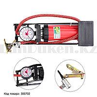 Напольный ножной насос 7 бар High Pressure Foot Pump CN-200 длина 28 см
