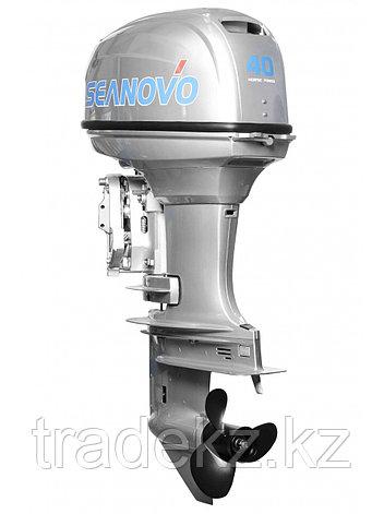 Лодочный мотор бензиновый SEANOVO SN 40 FHS ENDURO, фото 2