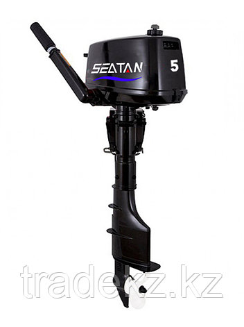 Лодочный мотор бензиновый SEATAN T5BMS, фото 2