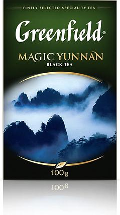 Чай Greenfield Magic Yunnan черный байховый 100 г, фото 2