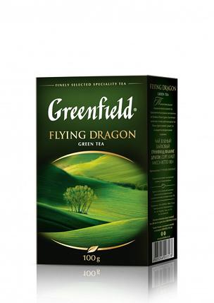 Чай Greenfield Flying Dragon зеленый крупнолистовой 100гр, фото 2