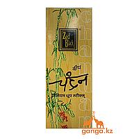 Натуральные безосновные Благовония Сандал (Chandan ZED BLACK), 10 шт