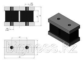Элемент резинометаллический ЭСА-100 сборных амортизаторов