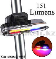 Многофункциональный фонарь яркий 151 Lumens аккумуляторный влагозащитный ZH1808 6 режимов свечения полицейский