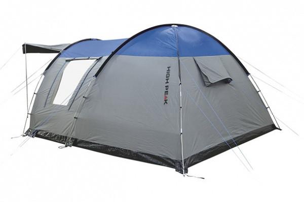 Палатка High Peak Santiago 5 (Grey/Blue) - фото 1