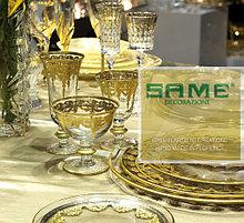 SAME Cristallere. Фужеры, бокалы, вазы