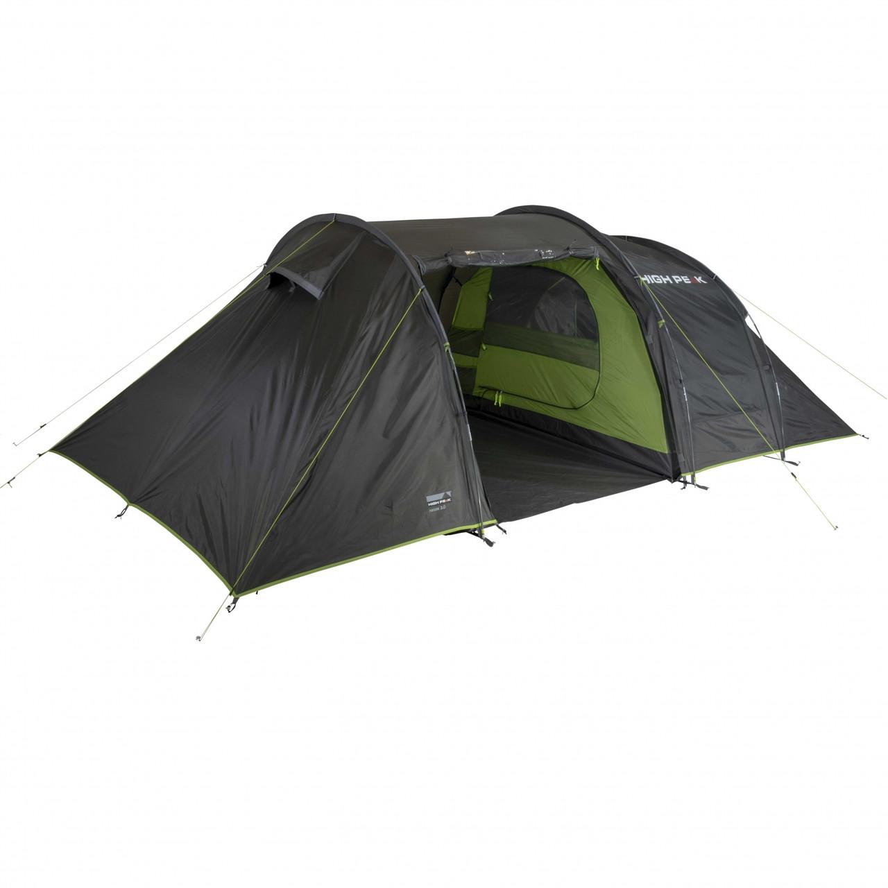 Палатка High Peak Naxos 3.0 (Dark Grey/Green) R89028