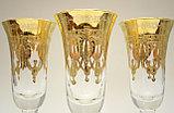 Набор фужеров для шампанского. Ручная работа, Италия, фото 4