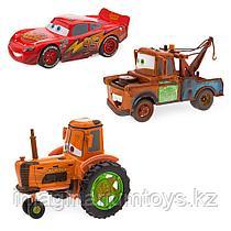 Игровой набор «Тачки» машинки Трактор, Мэтр, МакКуин оригинал Disney