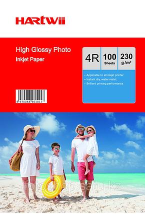 Фотобумага Hartwii 10x15/100 листов/230г/м, фото 2