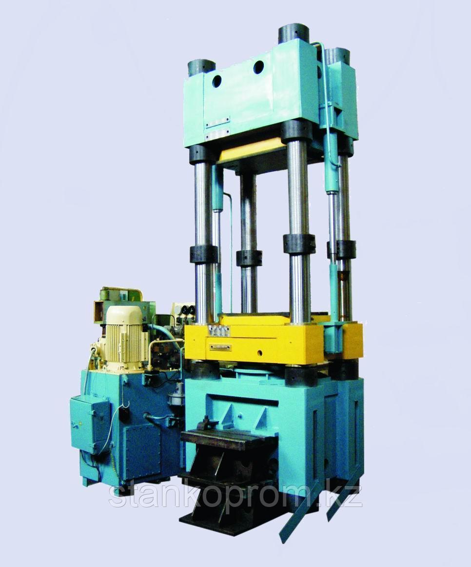 Пресс гидравлический колонный  9636 (ДА2236) усилие 400т