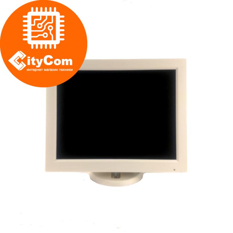 POS-монитор белый 12 дюймов TVS LP-12R35, VGA, 800x600, жесткое крепление к рабочему месту