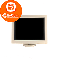 POS-монитор белый 12 дюймов TVS LP-12R35, VGA, 800x600, жесткое крепление к рабочему месту Арт.5516