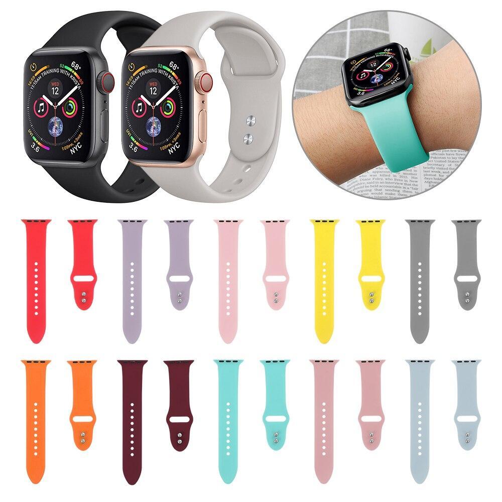 Гелевые ремешки  для apple Watch
