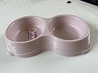 Миска двойная для кошек, 2*200мл, фото 1