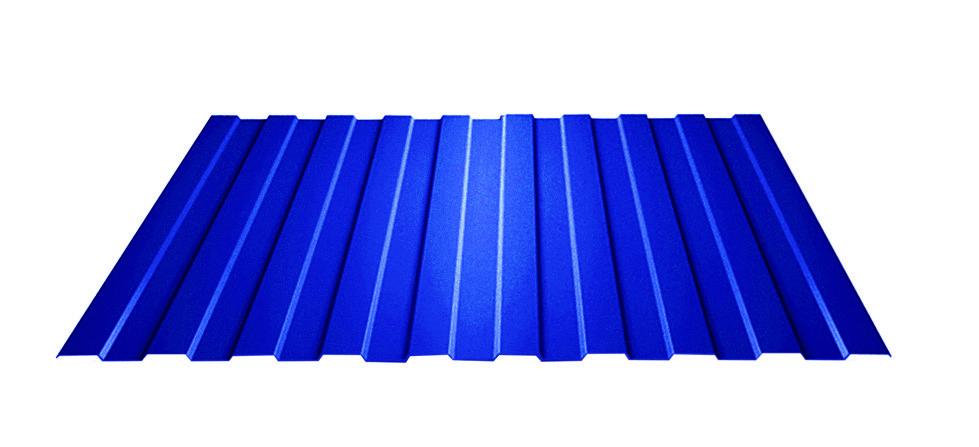 Профилированный лист С8 (0,4 мм) с полимерным покрытием Standart  Полиэстер