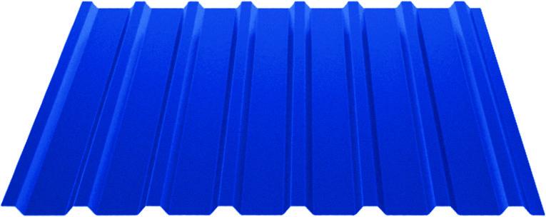 Профилированный лист НС20 (0,3 мм) с полимерным покрытием Standart Полиэстер