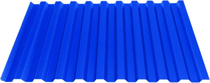 Профилированный лист НС21 (0,4)  полимерным покрытием Standart Полиэстер