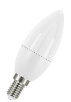 Лампа светодиодная LEDSCLB40 5,7W/827 230V FR E14 10*1RU OSRAM /4052899971608/
