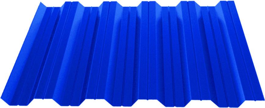 Профилированный лист Н 35 (0,45)  с полимерным покрытием Standart Полиэстер