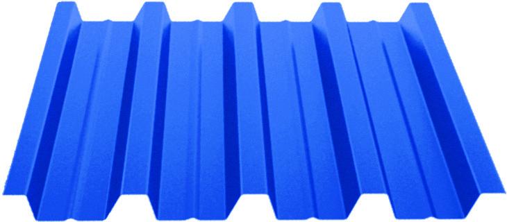Профилированный лист Н44 (0,7)  с полимерным покрытием Standart Полиэстер