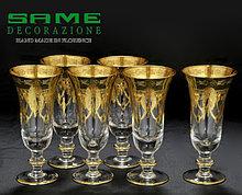 Набор фужеров для шампанского. Ручная работа, Италия