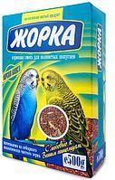 Корма для попугаев и хомяков