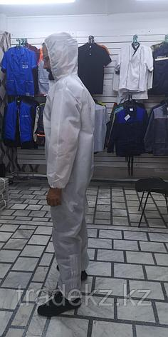 Костюм комбинезон одноразовый, ткань Спанбонд 60 гр., фото 2