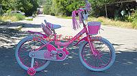 Велосипед Phillips Принцесса розовый оригинал детский с холостым ходом 20 размер