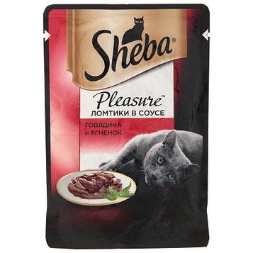 Влажный корм для кошек Шеба Говядина и ягнёнок