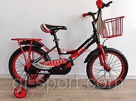 Велосипед Phoenix красный оригинал детский с холостым ходом 16 размер