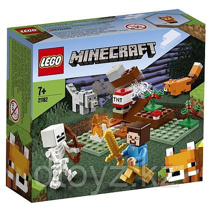 Lego 21162 Minecraft Приключения в тайге