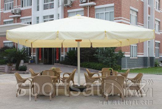 Зонт для уличных площадок 5*5м