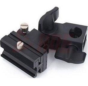 Крепление - адаптер холодного башмака на стойку для вспышки | синхронизатора, фото 2