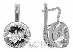 Серебряные серьги с горным хрусталем   Невский 43513Р