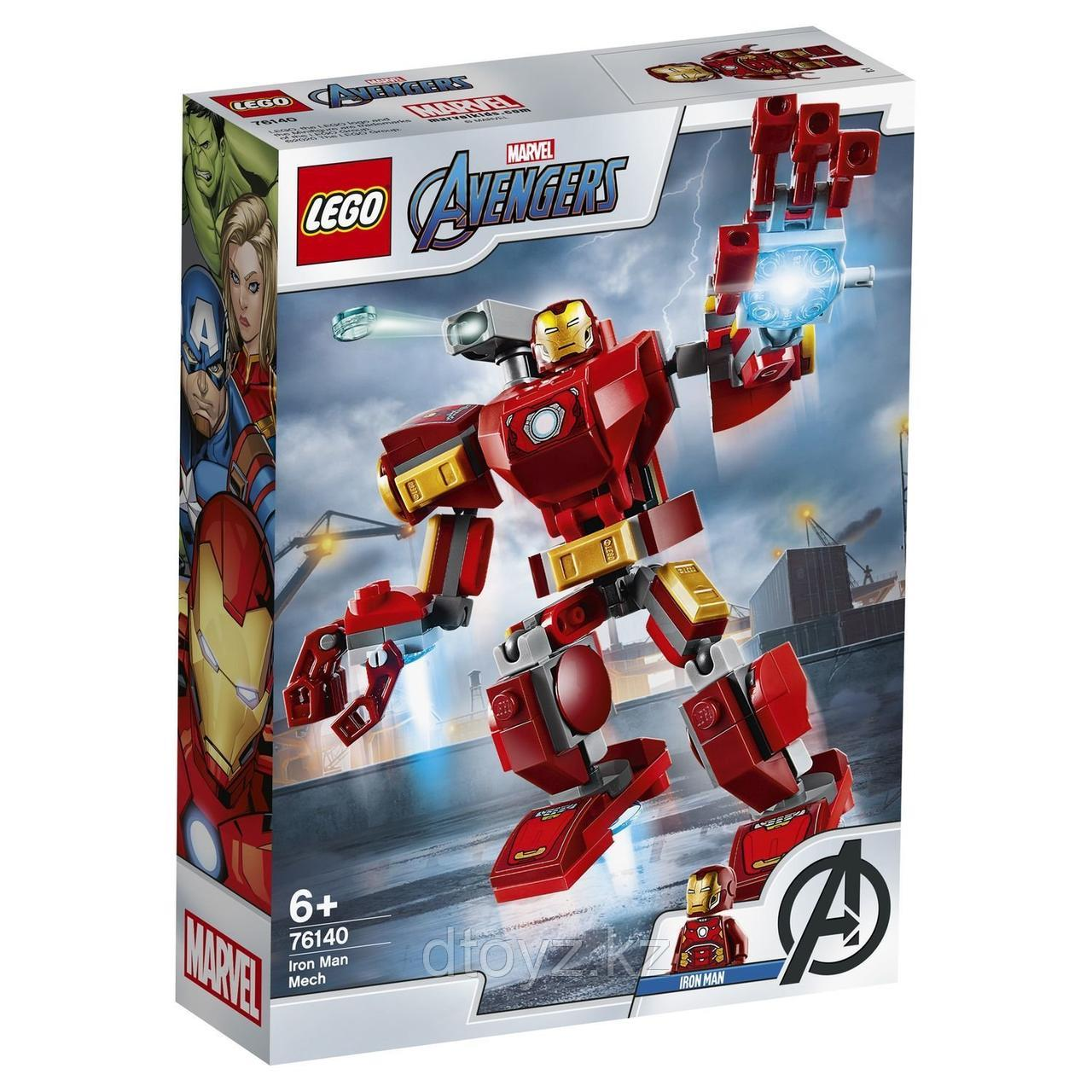 Lego 76140 Marvel Super Heroes Железный человек: трансформер