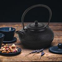 Чайник с ситом «Восточная ночь» 1,5 л, цвет чёрный