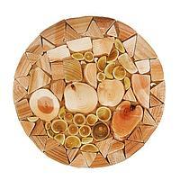 Подставка под горячее «Мозаика», D=20 см, можжевельник